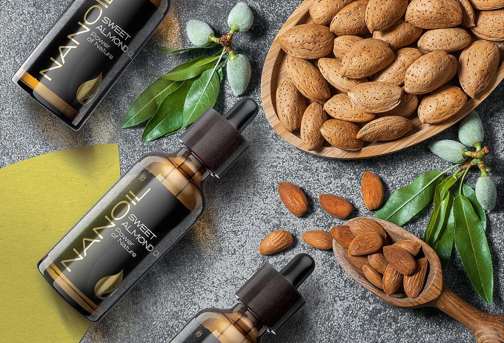 Nanoil Mandelöl zur Hautpflege